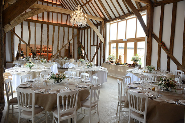Essex barn wedding venue