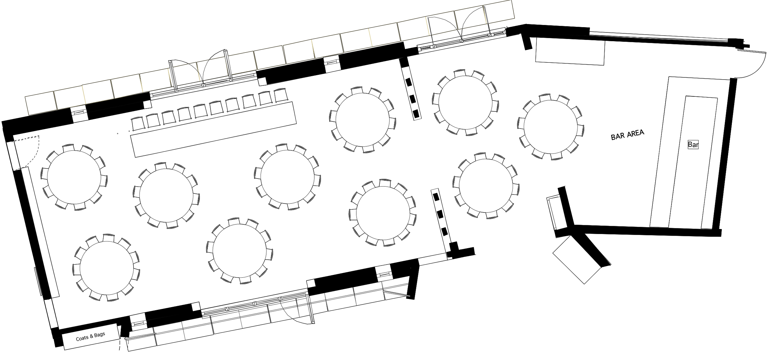 80 Guests Seat Plan